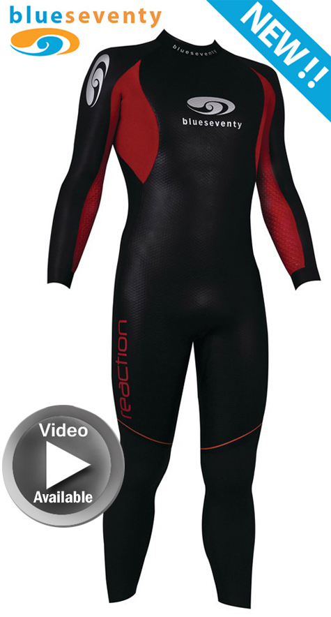 Men's Blue Seventy Reaction Wetsuit - RFS
