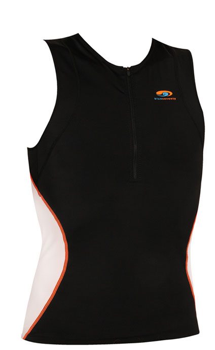 Blue Seventy Men's Tri Zip Top Triathlon