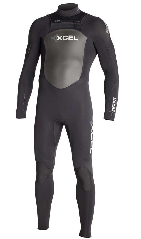 Xcel Infiniti X-Zip 4/3mm Wetsuit Men's Chest Zip Sale