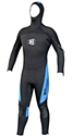 Men's 7mm H2Odyssey Coronado Hooded Wetsuit Front Zip Semi Dry