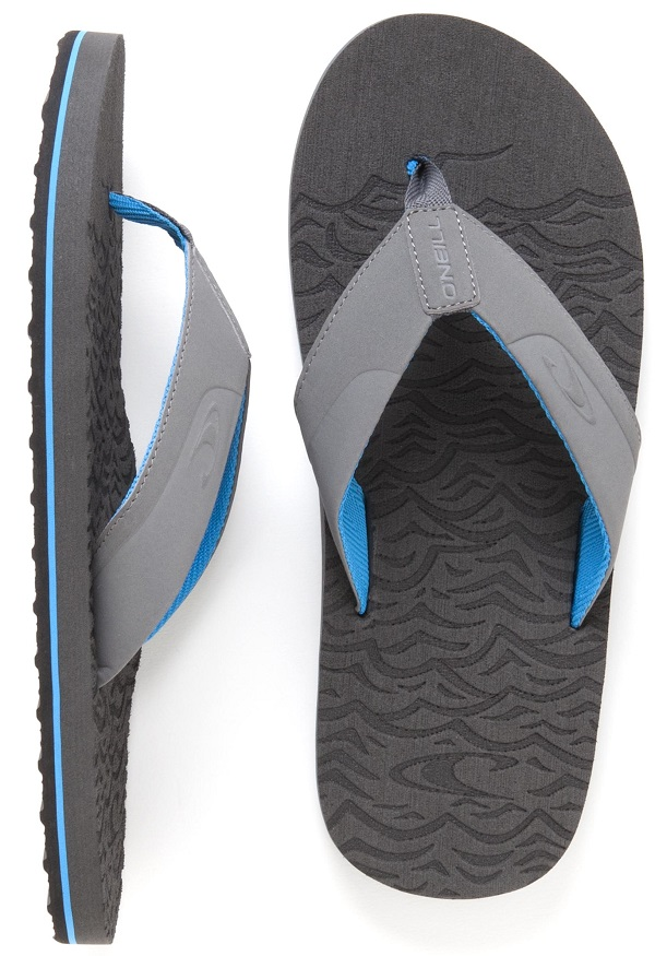 O'Neill Cruise 3 Sandals Men's Flip Flop - Grey -