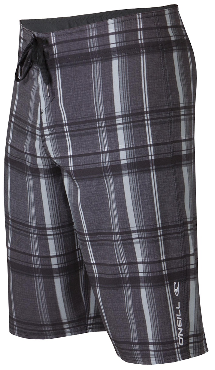 O'Neill Epic Plaid Boardshorts - Black -