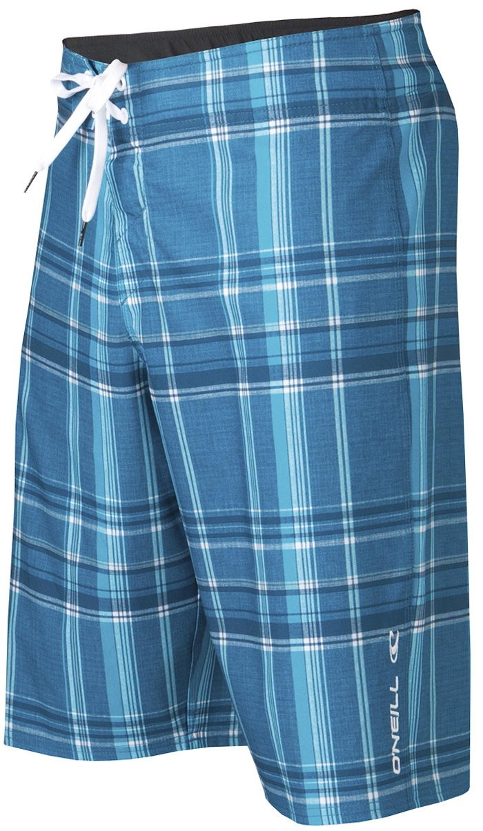 O'Neill Epic Plaid Boardshorts - Blue