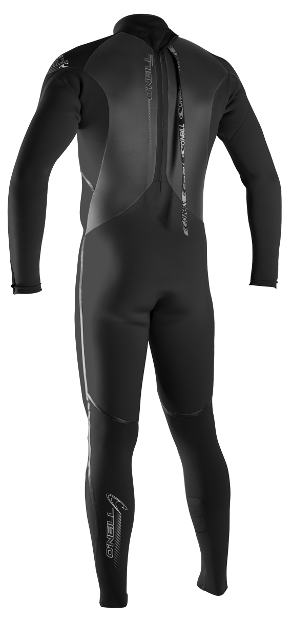 O'Neill Heat 3Q Zip 4/3mm Men's Full Wetsuit - 3859-A00
