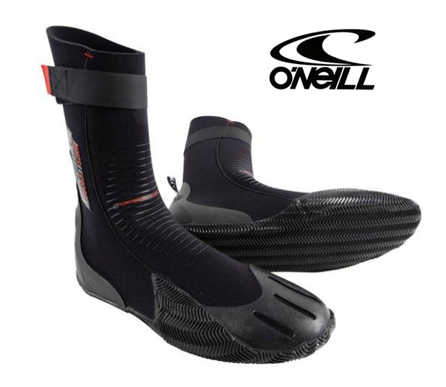 O'Neill Heat Booties 3mm Wetsuit  Boots Round Toe - 3368-002