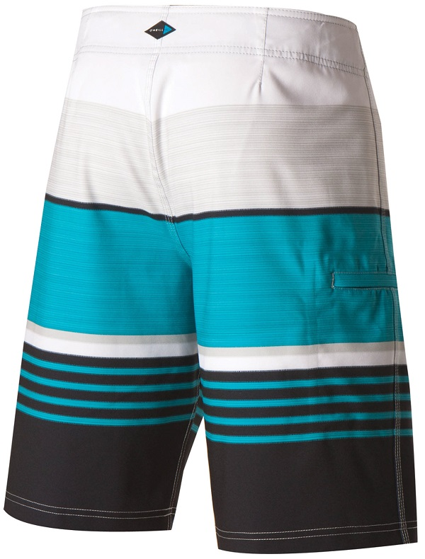 O'Neill Heist Men's Boardshorts - White/Blue/Black - 24106250