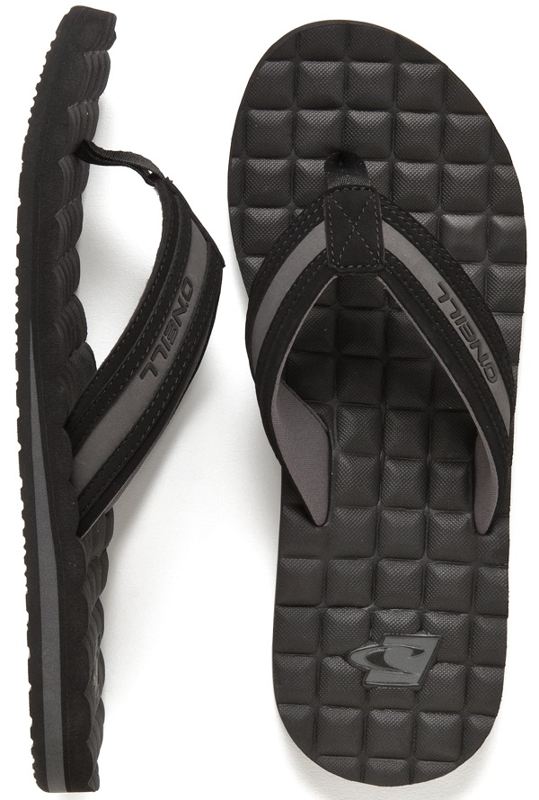 O'Neill Koosh Squared 2  Men's Flip Flops Sandals  - Black