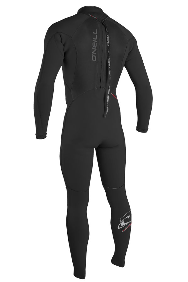 O'Neill Epic Wetsuit Men's 3/2mm Full Wetsuit GBS Black - 4211-A05