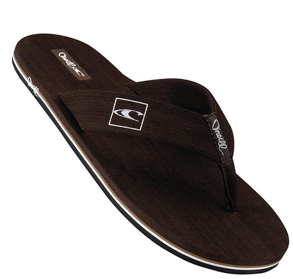 O'Neill Phluff Daddy Men's Flip Flops Sandal Brown -