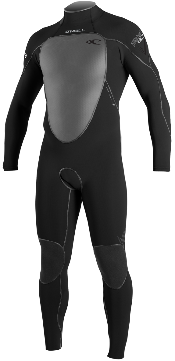 O'Neill Wetsuits Men's Psycho 3 4/3mm Full Suit O'Neill Wetsuit 4383