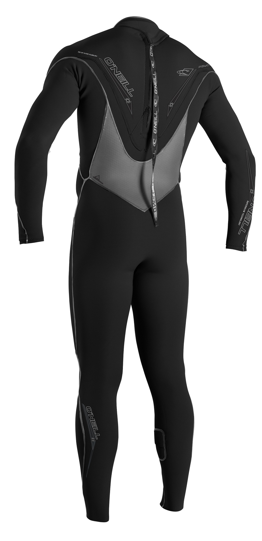 O'Neill PSYCHO 3 III ZEN Zip 3/2mm SSW Men's Wetsuit - NEW! - 4037-J94