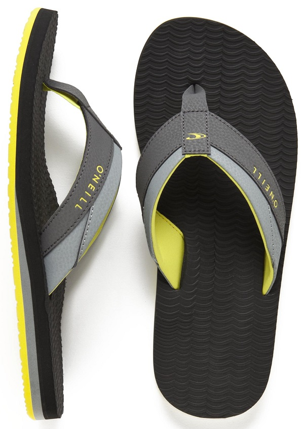 O'Neill Psycho Freak Flip Flop Sandals - Grey
