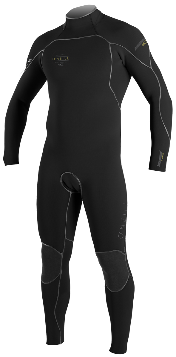 O'Neill Psychofreak Wetsuit Men's 4.5/3.5mm Zen Zip TechnoButter 2- Redesigned - 4381-U42