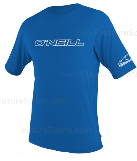 O'Neill Mens Rashguard Loose Fit Rash Tee 50+ UV -  Blue