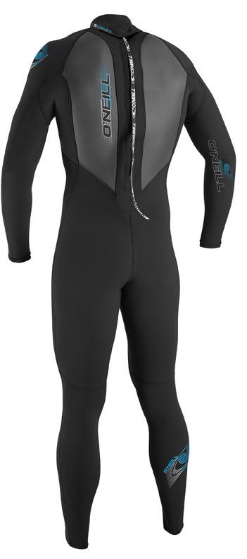 O'Neill Reactor Wetsuit Men's 3/2mm Wetsuit Full Black - 3798-A05