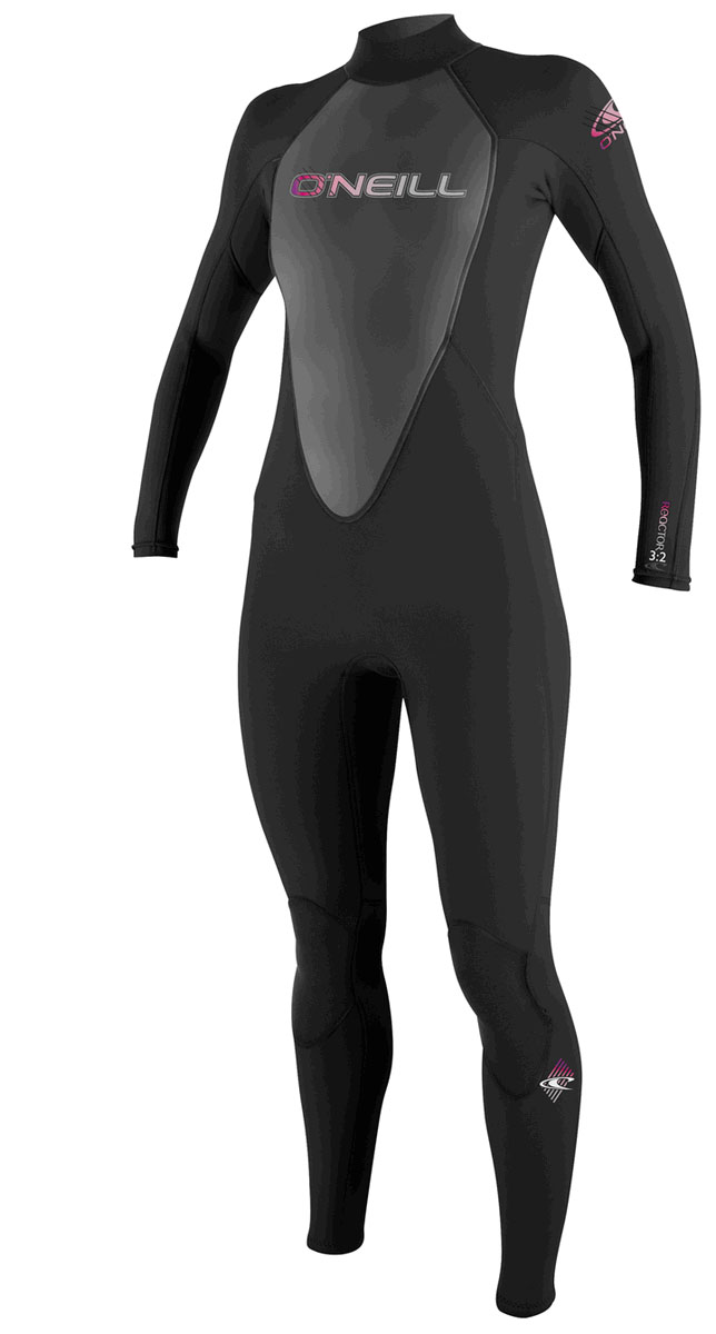 O'NEILL REACTOR 3/2mm WOMENS WETSUIT - BLACK
