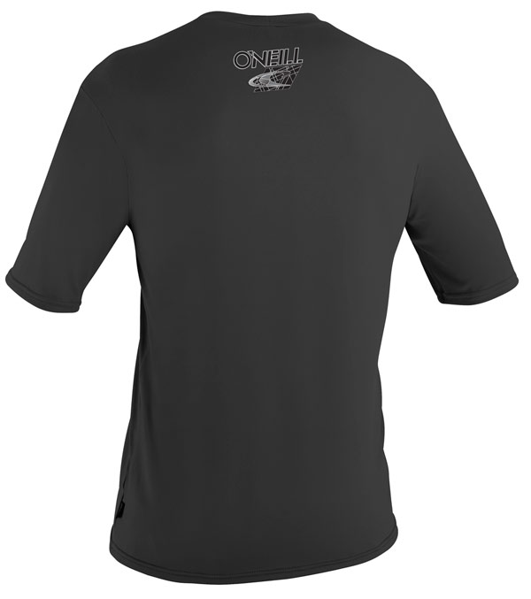 O'Neill Men's Rashguard Loose Fit Tee Short Sleeve 50+ UV Protection Black - 3753-002