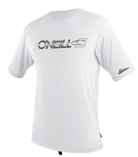 O'Neill Men's Loose Fit Tee Short Sleeve 50+ UV Protection - White