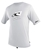 O'Neill Men's Rashguard Loose Fit Tee Short Sleeve 50+ UV Protection - White - 3753-025