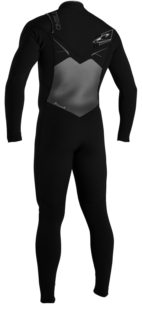 ONeill Men's Superfreak 3/2mm F.U.Z.E. Zip Wetsuit Chest Entry - 4045-A00