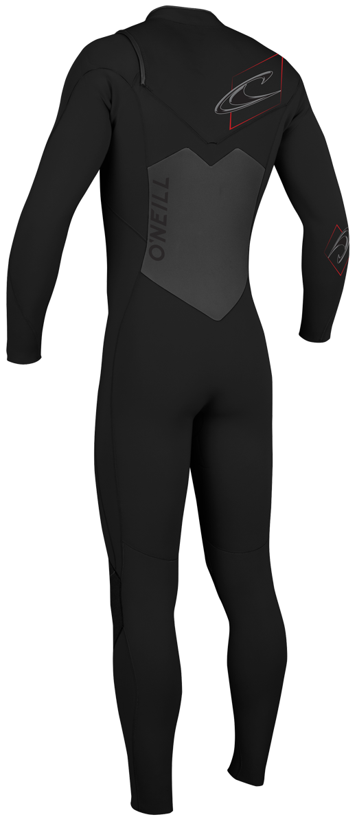 O'Neill Superfreak Wetsuit Men's 4/3mm F.U.Z.E. Zip Wetsuit Chest Entry - Redesigned - 4408-A05