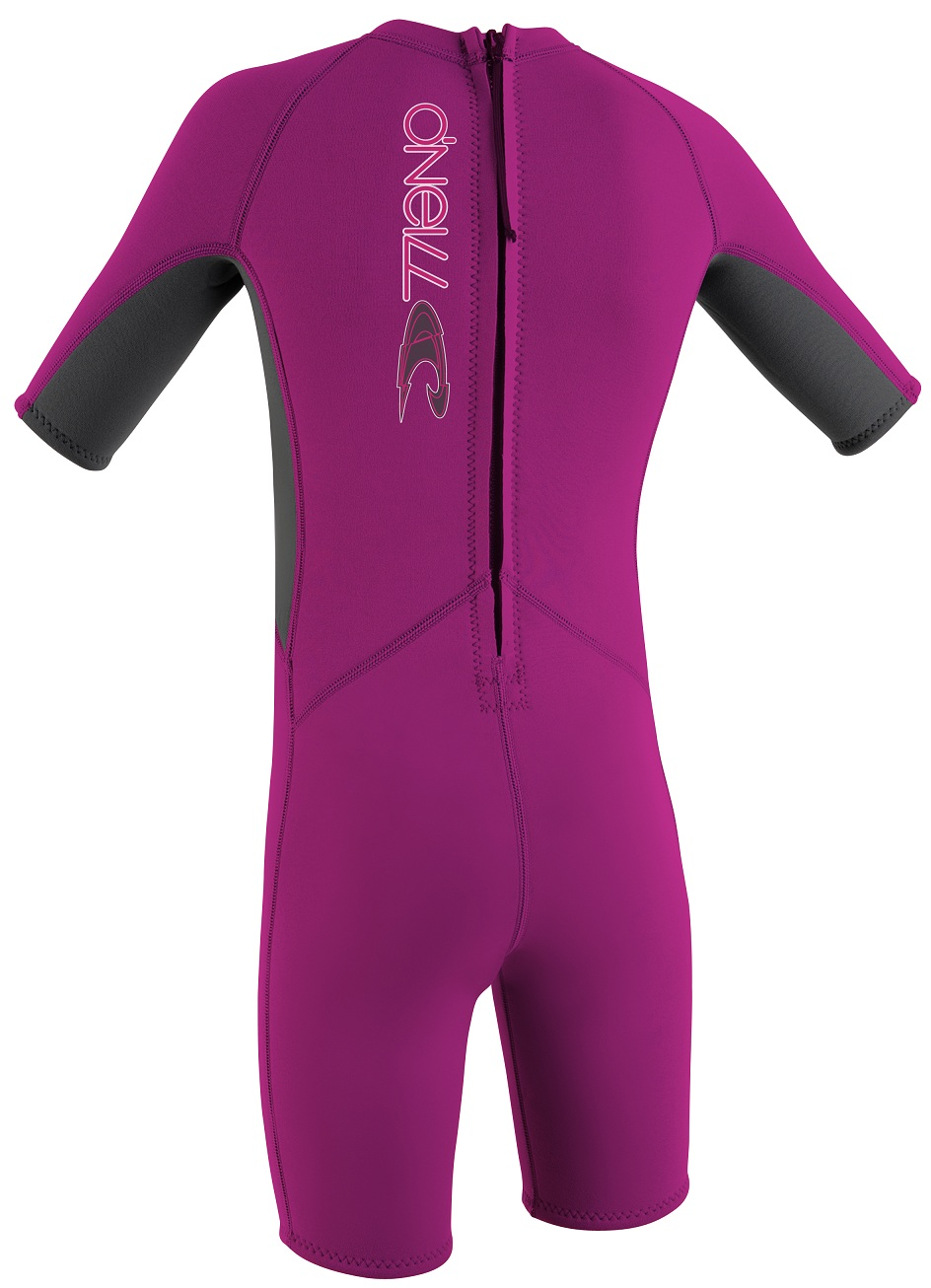 O'Neill Reactor Toddler Springsuit Wetsuit 2mm?- Pink - 3574-P31