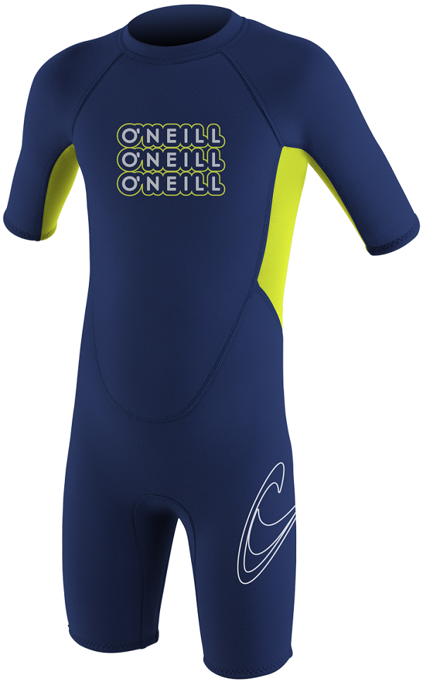 O'Neill Reactor Toddler Springsuit Wetsuit 2mm?- Navy - 4300-X06