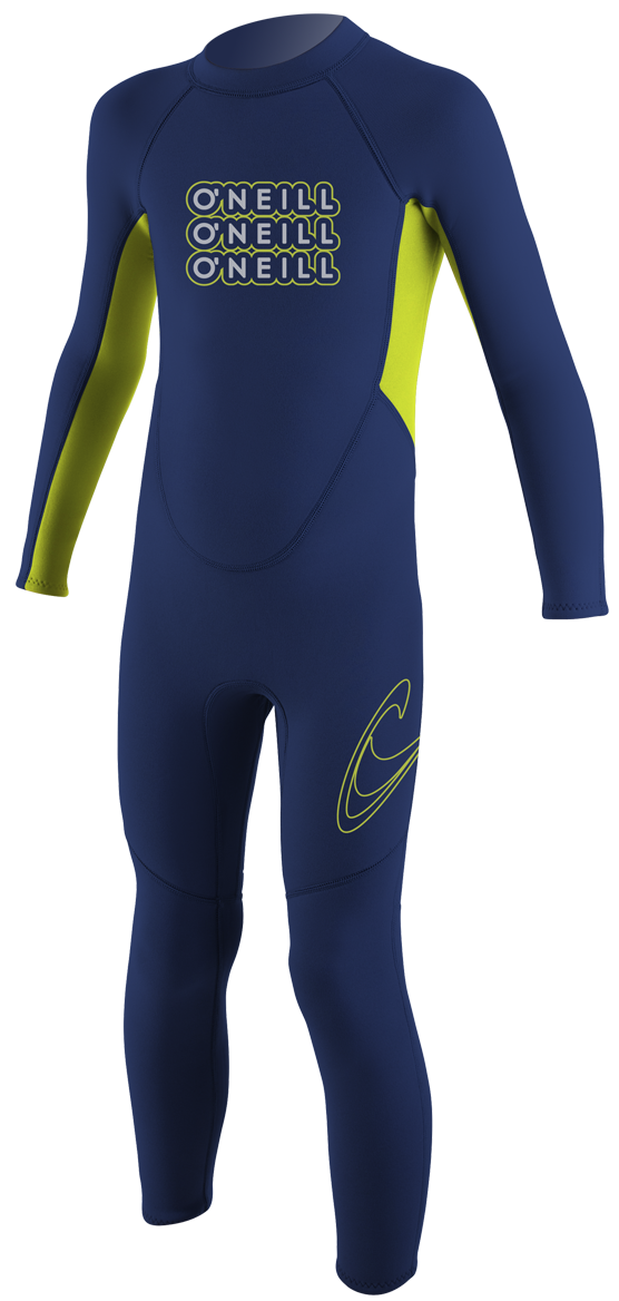 O'Neill Reactor Toddler Full Wetsuit 2mm Kids Wetsuit - Navy