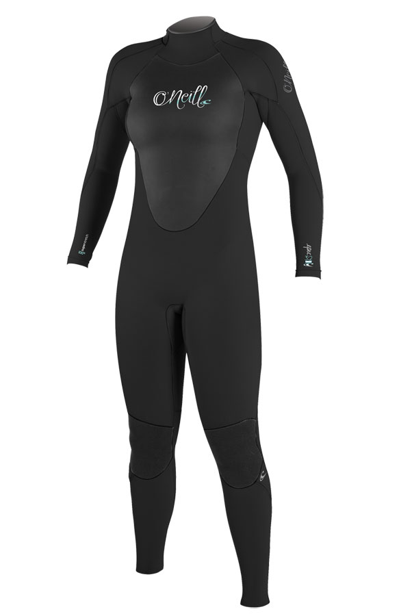 O'Neill Women's Epic 3/2mm Full Wetsuit - Black - 4213-A05