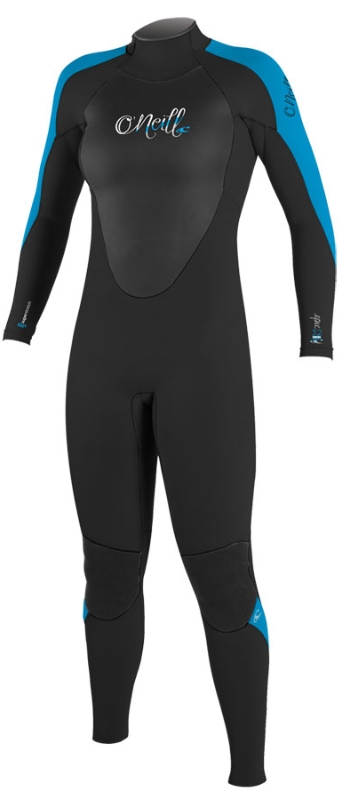 O'Neill Women's Epic 3/2mm Full Wetsuit - Black & Blue - 4213-W11
