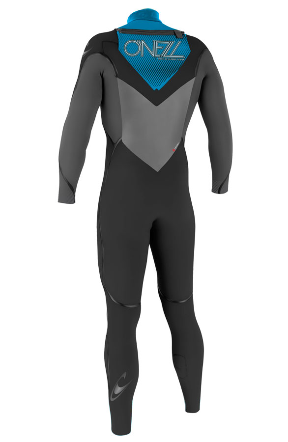 O'Neill Mutant 5/4mm Hooded Wetsuit Junior Boys & Girls - Black/Grey - 4198-W05