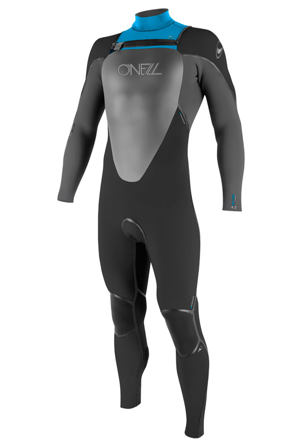 O'Neill Mutant 5/4mm Hooded Wetsuit Junior Boys & Girls - Black/Grey