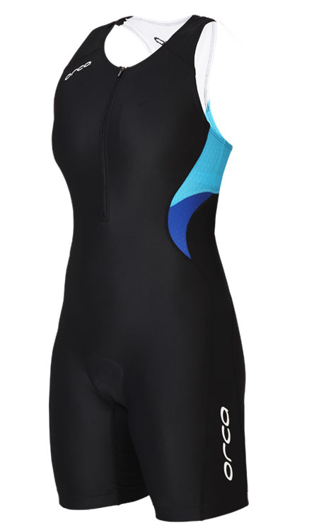 Womens Orca Core Tri Racesuit - River Blue -