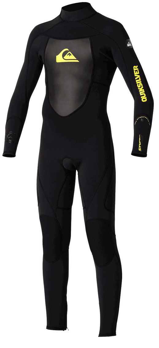 Quiksilver 3/2mm Syncro Wetsuit GBS Boys / Girls 3/2mm