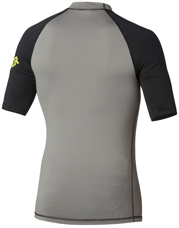Quiksilver All Time Short Sleeve Rashguard with 50+ UV Protection is available now at PleasureSports.com. - AQYWR00034-KVD0