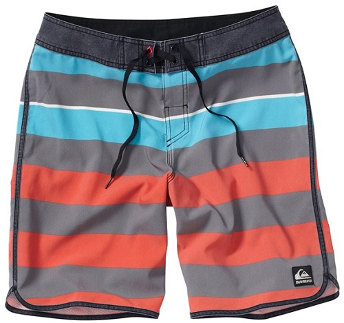 "Quiksilver Cypher Brigg Scallop 4 20"" Boardshorts - AQYBS00039-KPG3"