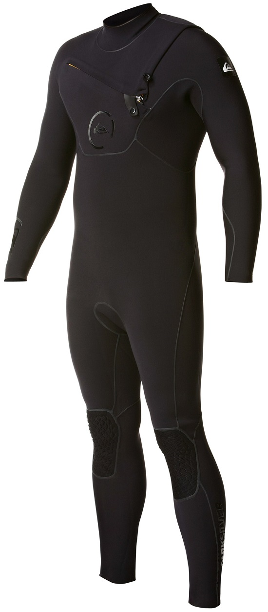 Quiksilver Men's 4/3mm Cypher Chest Zip Wetsuit - Newest Model! - AQYFL00026-KVD0