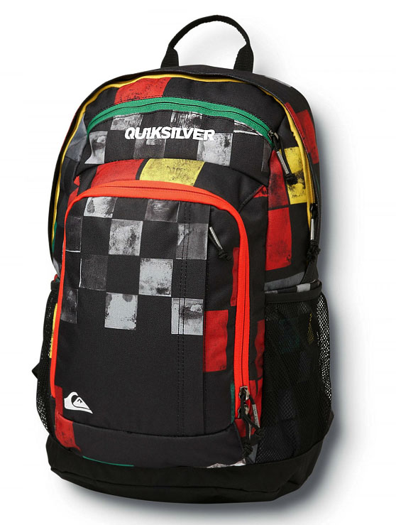 Quiksilver Guide Back Pack - Rasta - 846614-RST