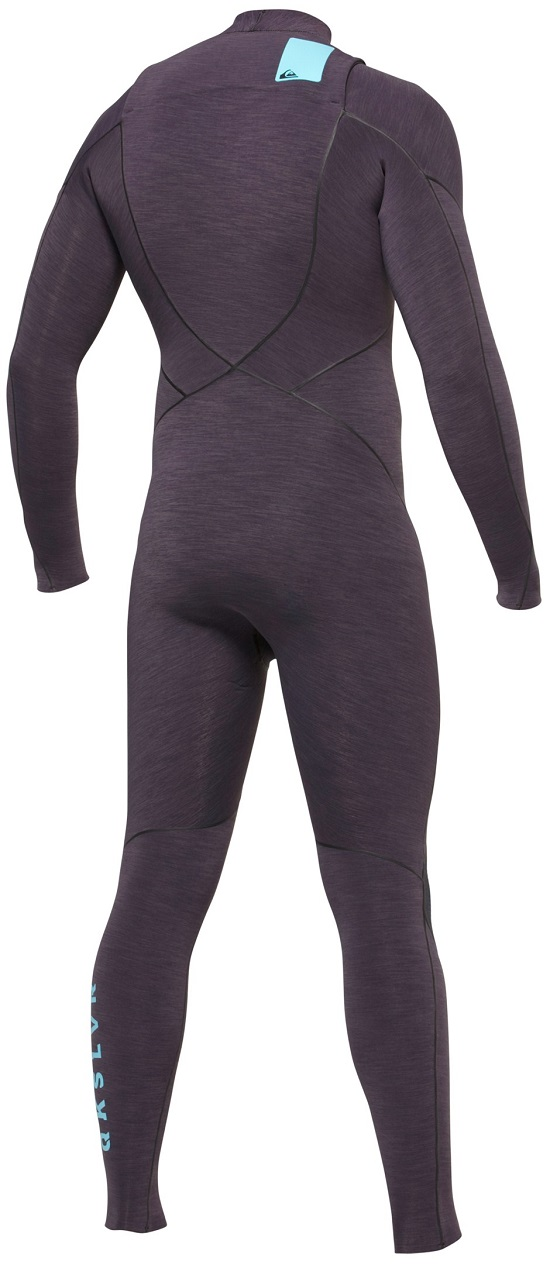Quiksilver 3/2mm Ignite Wetsuit Heather Chest Zip - AQYW100010-KNY0