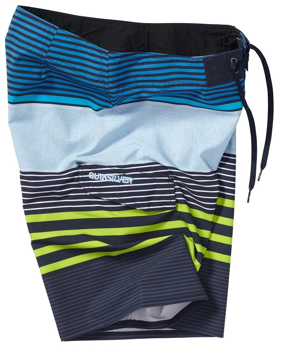"Quiksilver Men's Boardshorts Mays Hayes 21"" - Blue - AQYBS00177-KTP3"