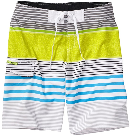 "Quiksilver Men's Boardshorts Mays Hayes 21"" - White - AQYBS00177-WBB3"