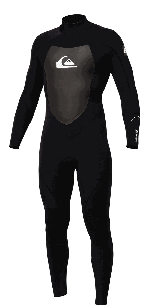 Quiksilver Syncro GBS Wetsuit 3/2mm GBS - Black - SA309MG-BKW
