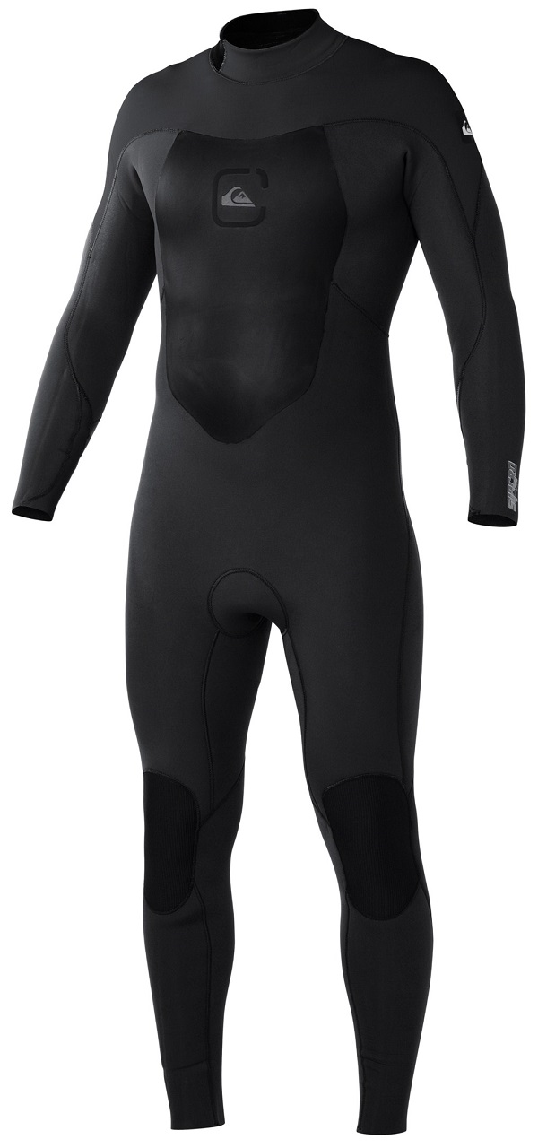 Quiksilver Syncro Wetsuit GBS 3/2mm Men's Full Length - Latest Model