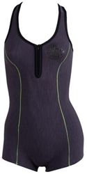 Rip Curl G-Bomb Wetsuit Springsuit Cross Over Women's 1mm - Charcoal -