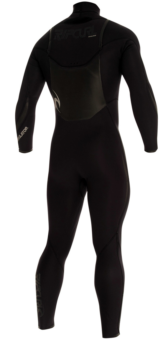 Rip Curl Insulator Core Wetsuit 4/3mm Chest Zip - FREE HOOD! - WSMXIM-BLK