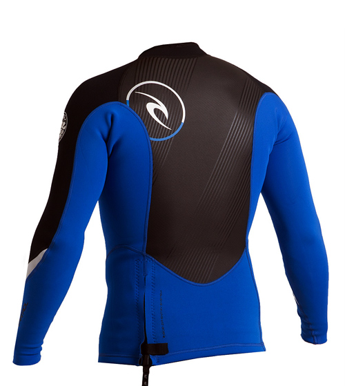 Rip Curl Dawn Patrol Jacket 1.5mm Long Sleeve Blue - WVEXAM-BLU