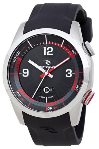 Men's Rip Curl Launch Heat Watch - Black - A2591-BLK-Black