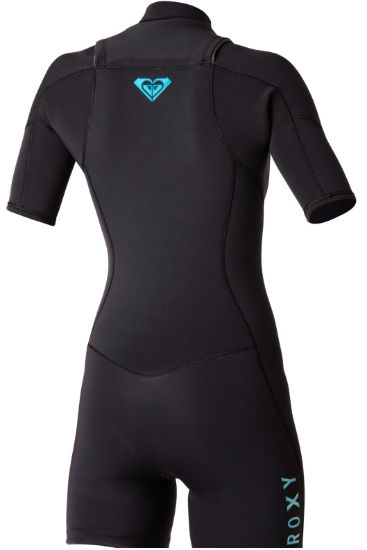 Roxy Woman's 2mm Ignite Chest Zip Spring suit - IH218WG-BBL