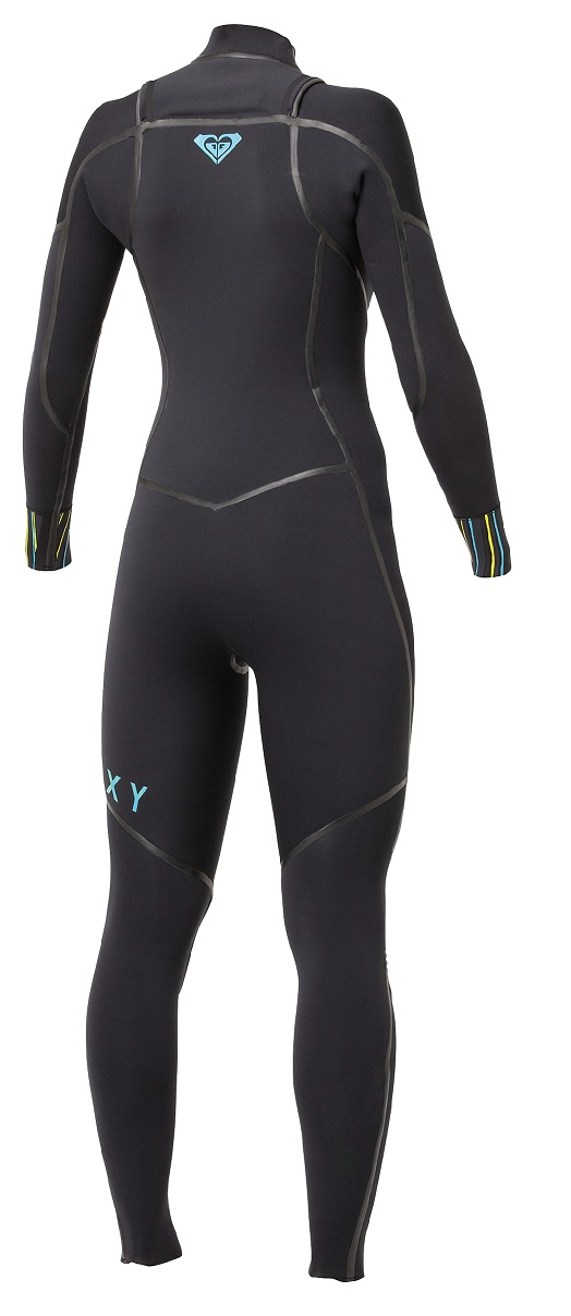 Roxy Ignite 3/2mm Wetsuit Chest Zip Full Length Welded Seams - Limited Edition - IH309WL-BBL