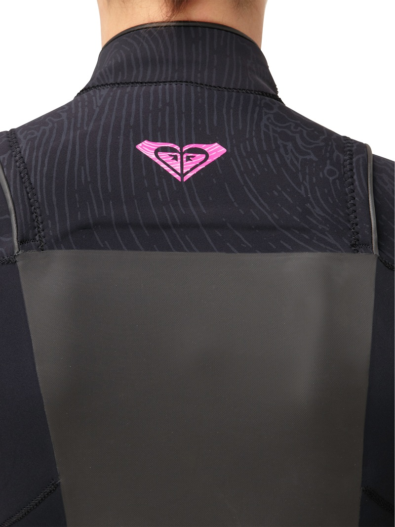 Roxy Syncro 4/3mm GBS Chest Zip Womens Wetsuit New Design - SC409WG-BKP